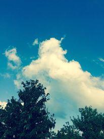 Natur himmel schauspiel, Digitale kunst,