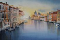 Stadt, Landschaft, Wasser, Venedig