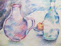 Schale, Vase, Flasche, Zeichnungen