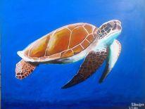 Acrylmalerei, Malerei, Portrait, Tiere