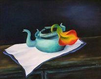 Stillleben, Ölmalerei, Malerei, Leben