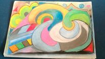 Pipo, Pastellmalerei, Malerei