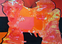Dimension, Ebene, Verbindung, Malerei