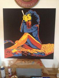 Trash, Rauchen, Portrait, Joint