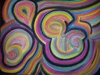 Abstrakt, Bunt, Malerei