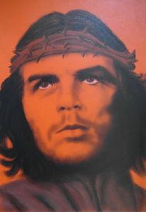 Portrait, Krone, Dornenkrone, Che guevara