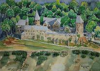 Wald, Burg altena, Schloss, Schatten