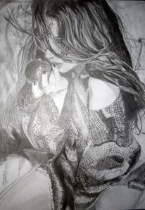 Apfel, Zeichnung, Verführen, Realismus