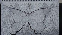 Tangeln, Tuschmalerei, Zeichnungen,
