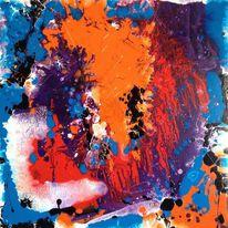 Abstrakt, Acrylmalerei, Malerei, 2015