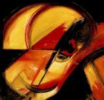 Expressionismus, Abstrakt, Malerei, Acrylmalerei