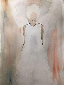 Engel, Traum, Aquarell