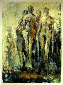 2014, Acrylmalerei, Abstrakt, Malerei