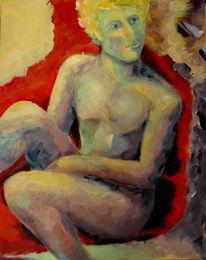 Menschen, Acrylmalerei, Abstrakt, 2015
