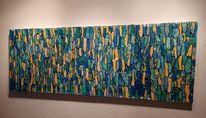 Abstrakt, Malerei, Mischtechnik, Modern art