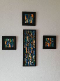 Abstrakt, Modern, Modern art, Acrylmalerei