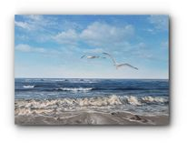 Brandung, Meer, Nordsee, Realismus
