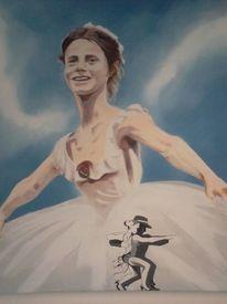 Gesellschaft, Ballerina, Menschen, Tanz