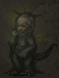 Reptil, George bush, Politik, Krieg