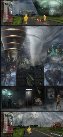 Zerstörung, Raumschiff, Ende, Freak