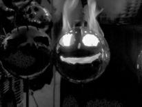 Gesicht, Feuer, Fratze, Fotografie