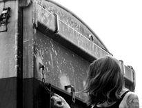 Menschen, Zug, Fotografie
