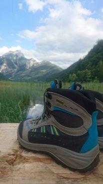 Wanderschuhe, Wasser, Natur, Fotografie