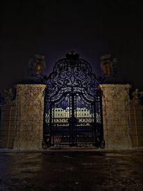 Licht, Tor, Schloss, Fotografie