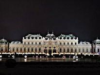 Weihnachten, Schloss, Licht, Fotografie