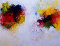 Rot, Abstrakt, Blau, Modern