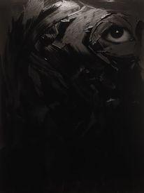 Gouachemalerei, Augen, Malerei, Surreal
