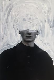 Abstrakt, Fotografie, Mixed media, Mann