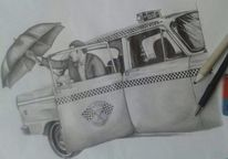 Taxi, Realismus, Portrait, Menschen