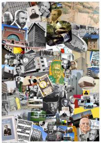Funktionalismus, Gropius, Collage, Kandinsky