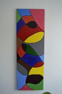 Pinsel, Abstrakt, Acrylmalerei, Malerei