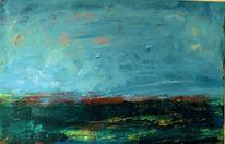 Himmel, Horizont, Malerei, Landschaft