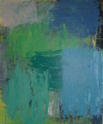 Malerei, Spachtel, Schicht