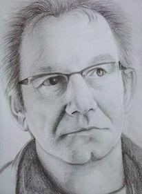 Gesicht, Zeichnung, Portrait, Mann