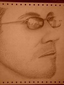 Gesicht, Mann, Freundschaft, Zeichnungen