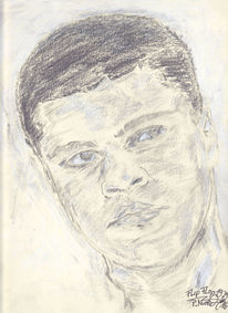 Muhammed ali, The greatest, Kämpfer, Portrait