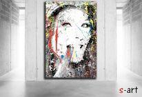 Urbanart, Freiheit, Frau, Digitale kunst