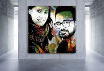 sharyar, Portrait, Digital, Digitale kunst
