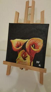 Tulpen, Malerei, Pflanzen