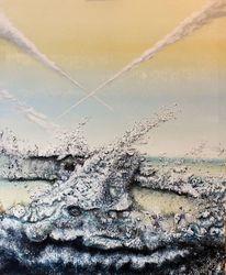 Wasser, Dynamik, Fisch, Landschaft
