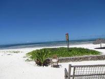 Strand, Stuhl, Sansibar, 2013