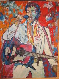 Musik, Menschen, Elvis, Malerei