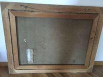 Signatur, Holz, Rahmen, Pinnwand