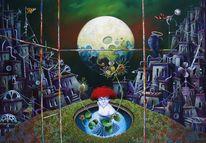 Mond, Fantasie, Musik, Sichtweise