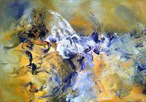 Meer, Malerei, Mischtechnik