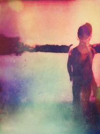 Fotografie, Junge, Landschaft, Wasser